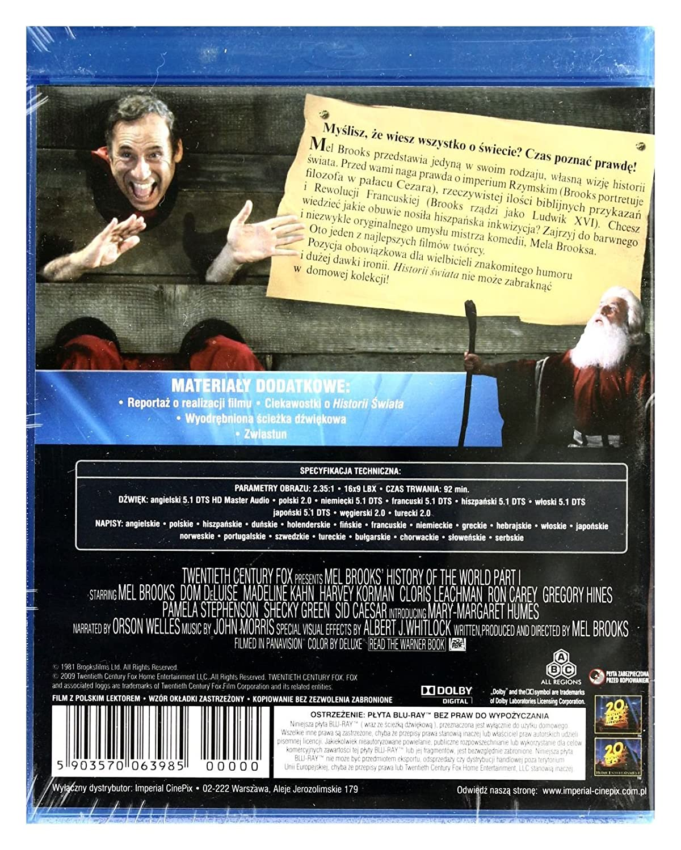 Amazoncom History Of The World Part I Blu Ray Region Free