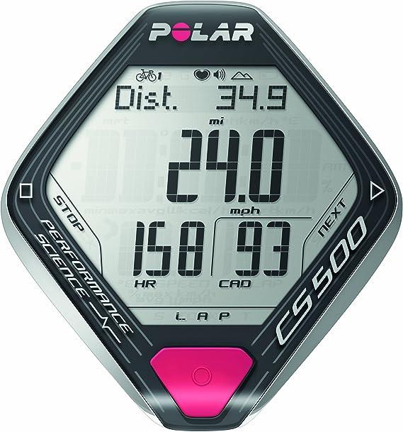 Polar CS500+ - Ciclocomputador con pulsómetro de entrenamiento ...