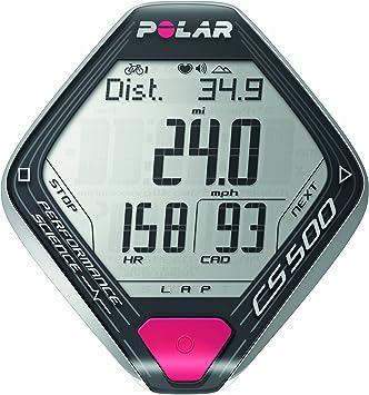 Polar CS500+ - Ciclocomputador con pulsómetro de entrenamiento RCX5 para ciclismo: Amazon.es: Deportes y aire libre