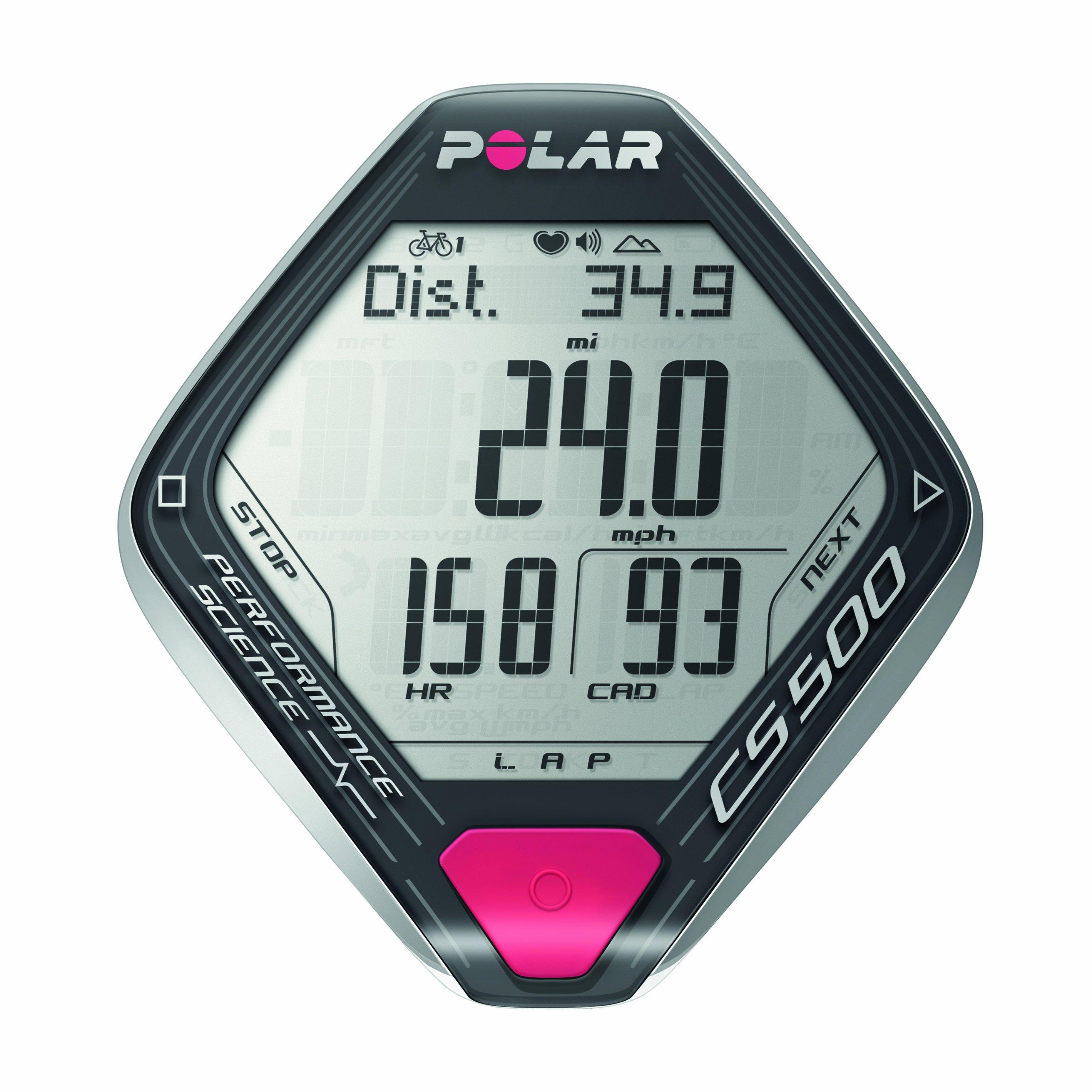 Polar CS500+ CAD Cardiofrequenzimetro, Grigio product image