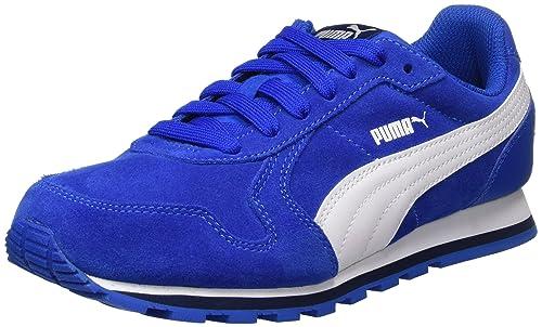 Puma St Runner SD Jr, Zapatillas Unisex Niños, Morado (Dark Purple-Marshmallow), 37 EU