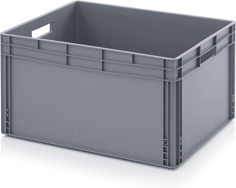 Euro de cajas Euro Box 80 x 60 x 42 cm incluye ZOLLSTOCK