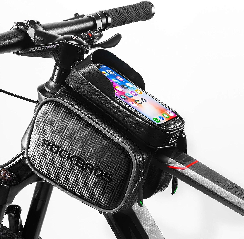 Bolsa Sillin Bici Bolsas para Bicicletas Accesorios para Bicicletas Tel/éfono de la Bicicleta Montaje DE LA Ciclismo Accesorios Accesorios
