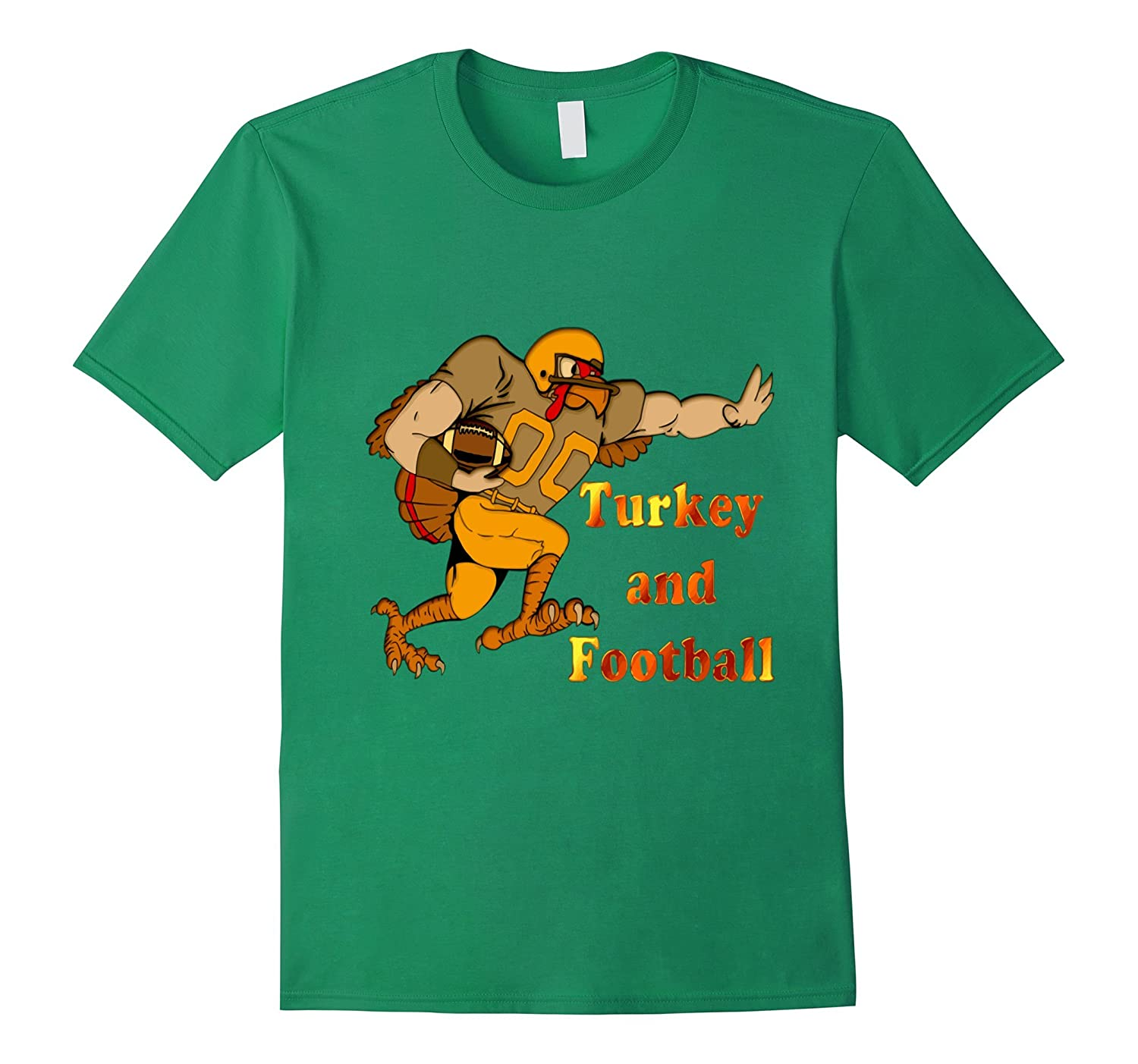 Thanksgiving shirt: TURKEY FOOTBALL COLOR t shirt-BN – Banazatee