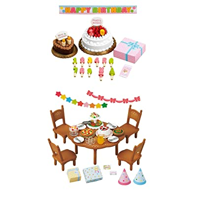 2 Sets - Fun and Party Theme - Birthday Cake and Home Party Sets (Japan Import): Home & Kitchen