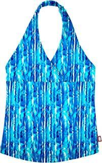 product image for City Threads Girls Tankini Swimsuit Halter Top Bikini UPF50+ Rash Guard for Beach Pool