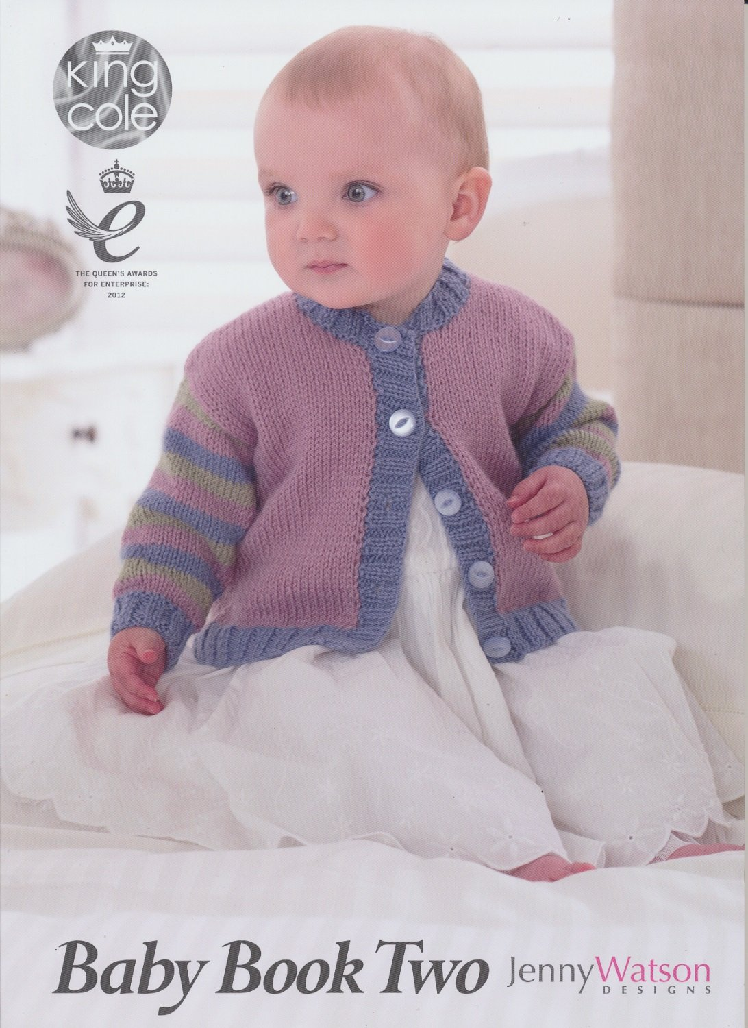 King Cole Baby Book Two Knitting Book Double Knitting Patterns Prem to 2 yrs