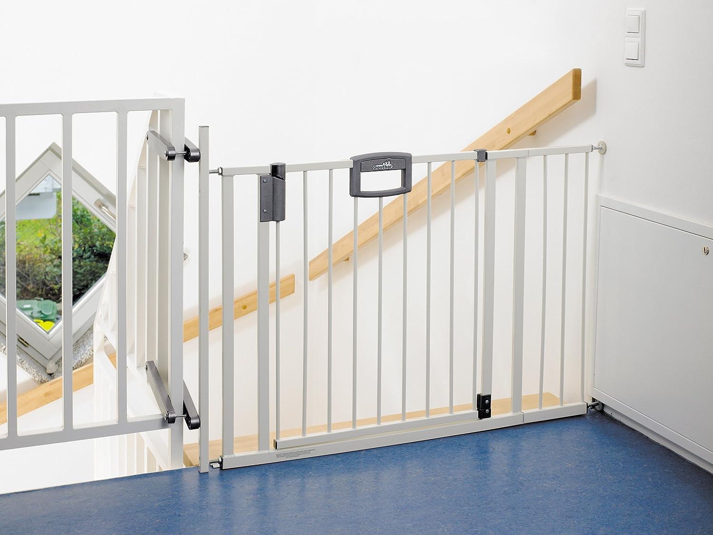 Geuther 4783we Barriere Easylock Metal Escalier Grande