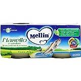 Mellin - Omogeneizzato, Nasello e Verdure, 2 vasetti