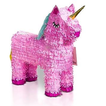 Brynnberg Pinata Unicorn Pink - 57x37cm de altura, juego de ...