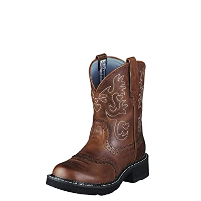 Ariat Damens's Fatbaby Saddle  Western Boot  Saddle  Mid Calf bc46ff