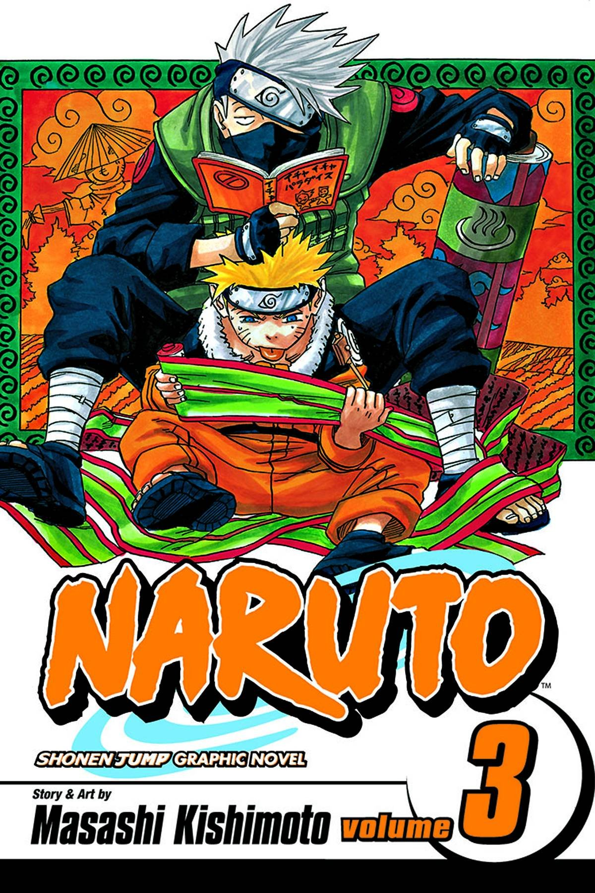 Image result for naruto vol. 3
