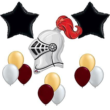 Amazon Com Medieval Times Knight Balloon Decoration Kit Toys Games