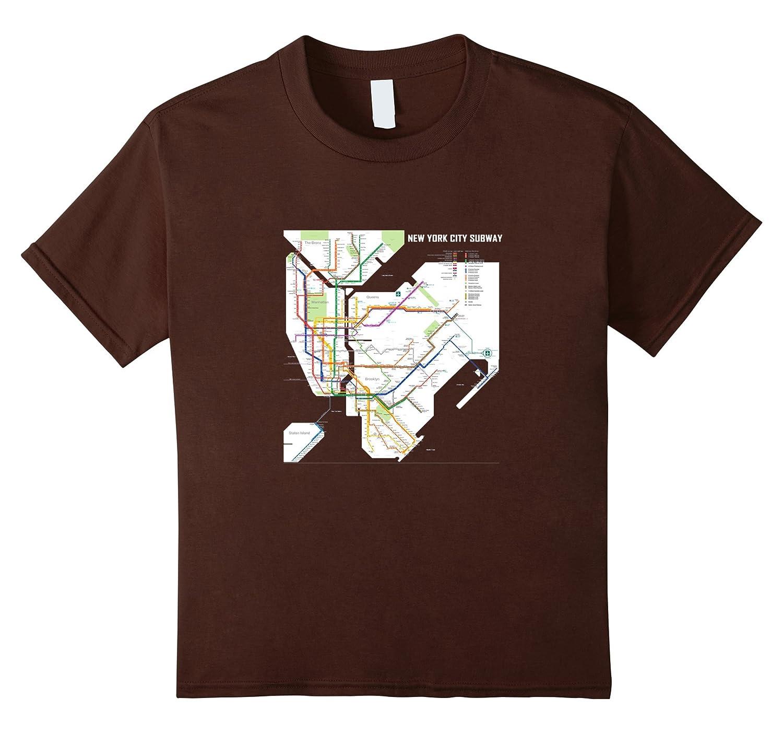 Amazon.com  New York City Subway Map  Clothing b175a85dc42
