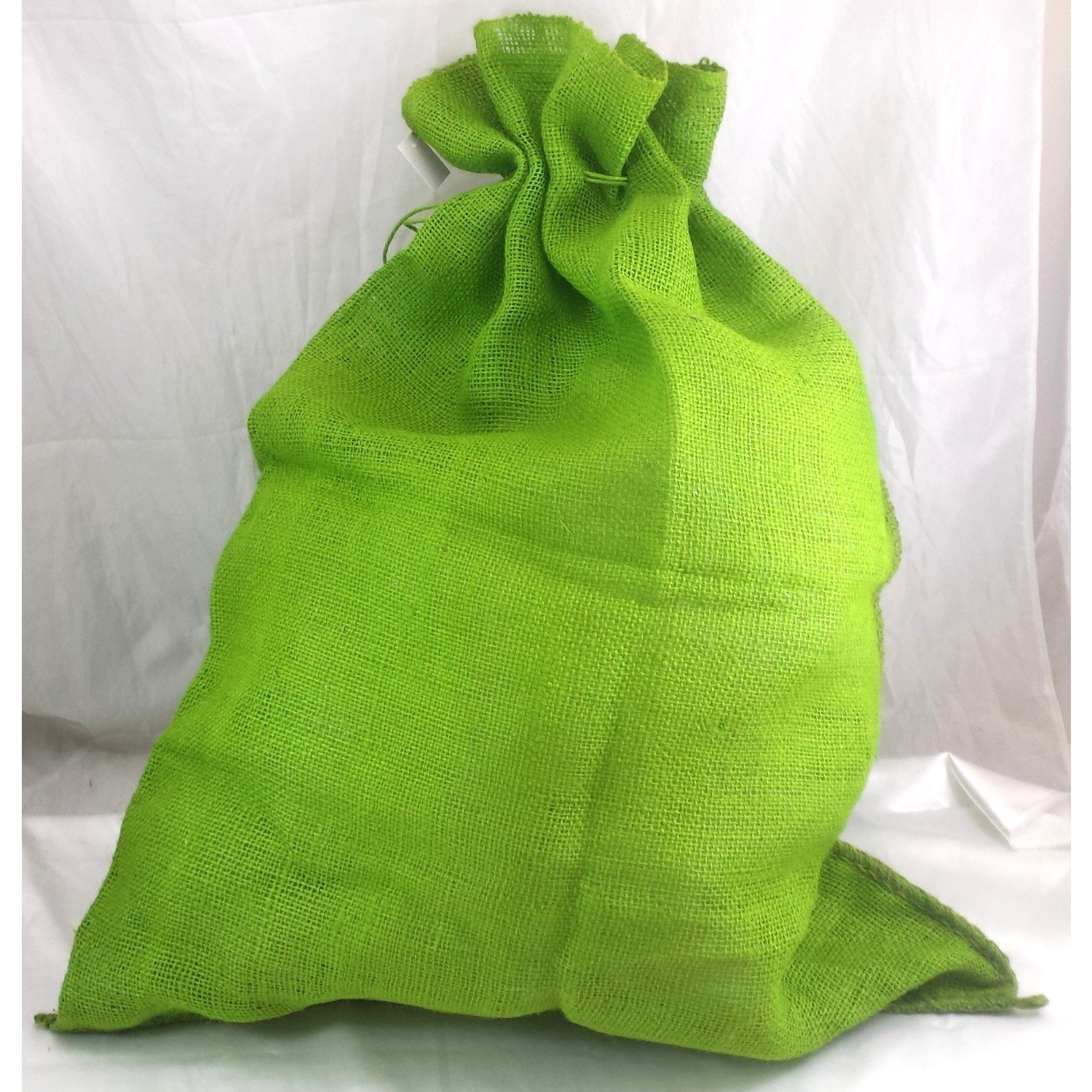 Kel-Toy Christmas and Everyday Gift Wrap & Crafting Jute Sacks in 3 Colors BUYERS' CHOICE (2, green)