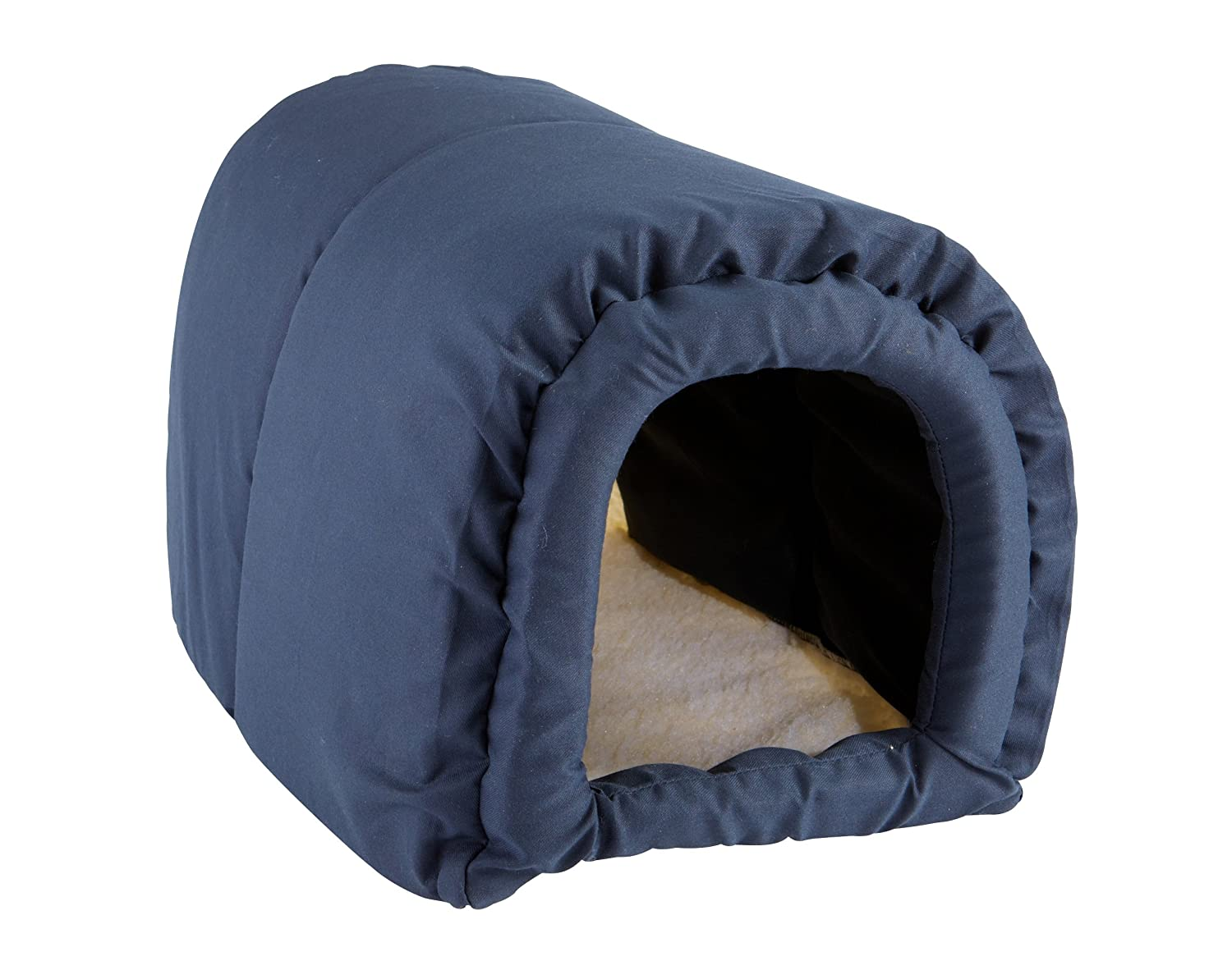 Navy Great State Pet Kitty Cave Cat Bed, Navy