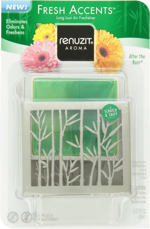 Renuzit Fresh Accents Air Freshener, After The Rain Air.27 Ounce