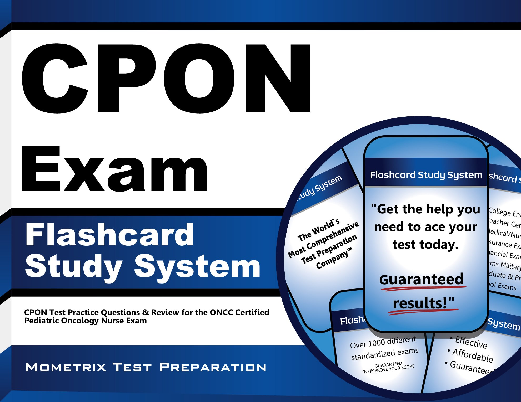 Buy Cpon Exam Flashcard Study System Cpon Test Practice Questions