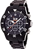 Ice-Watch Chronograph Black Big Plastic Watch CH.BK.B.P