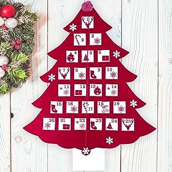 Valery Madelyn Décoration De Noël Calendrier De Lavent Arbre De