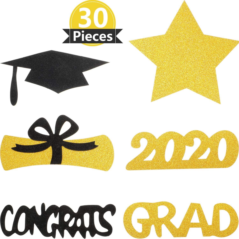 2019 Diploma di laurea decorazioni per la tavola di laurea forniture per