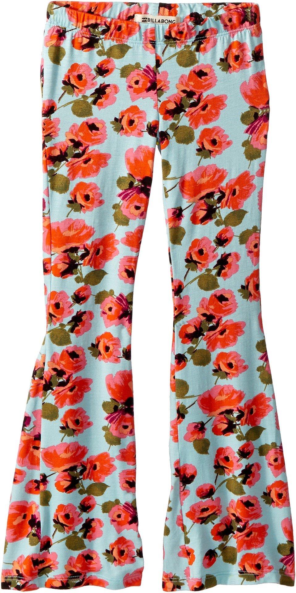 Billabong Kids Girl's Tell Me Knit Pants (Little Kids/Big Kids) Beach Glass Medium