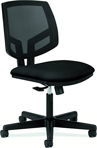 HON Volt Task Chair – Mesh Computer Chair for Office Desk, Black H5711