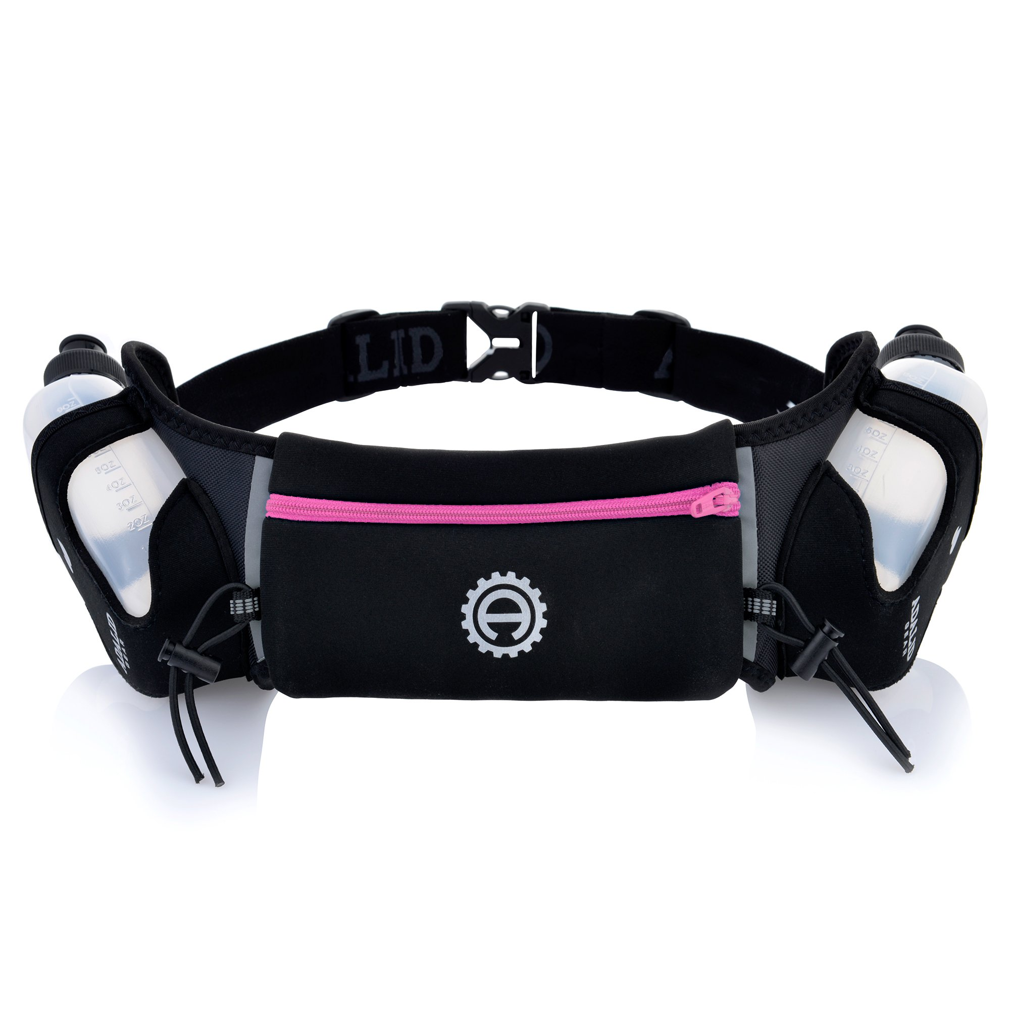 Hydration Belt for Running - Includes Accessories and Two 10-Ounce BPA-Free and