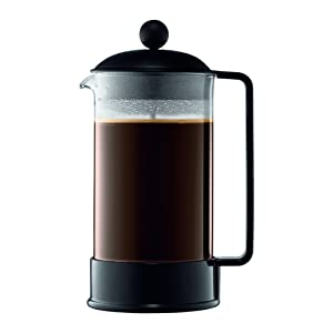 Bodum 1548-01US Brazil French Press Coffee and Tea Maker 34 Ounce Black