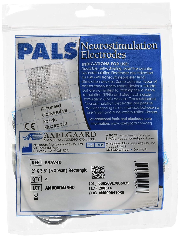 Axelgarrd 081071323 Axelgaard Pals Electrodes 2 x 3.5 Rectangle