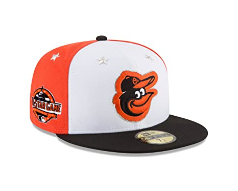 dcc6d18cdba408 New Era Baltimore Orioles 2018 MLB All-Star Game On-Field 59FIFTY Fitted Hat