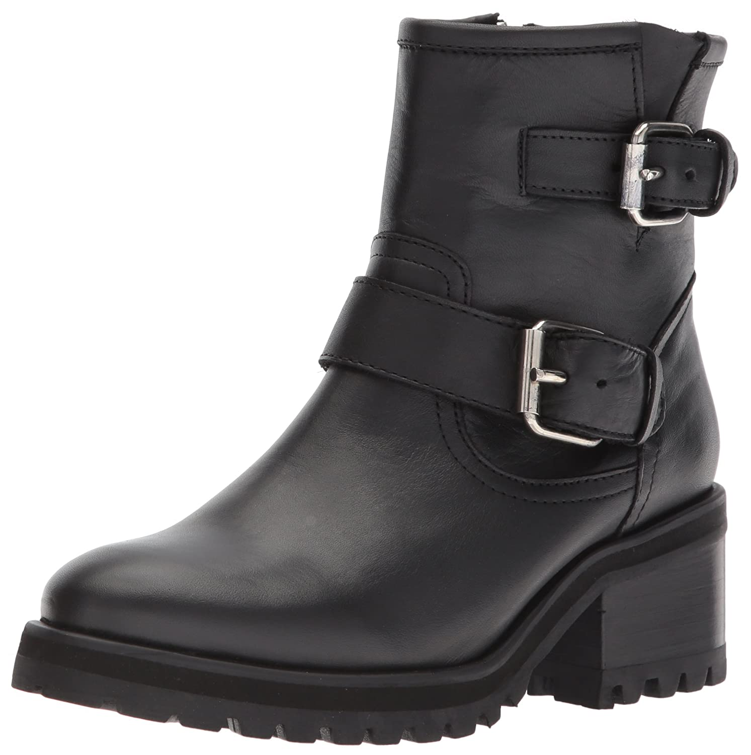 d0dcec601e Amazon.com | Steve Madden Women's GAIN Motorcycle Boot | Ankle & Bootie