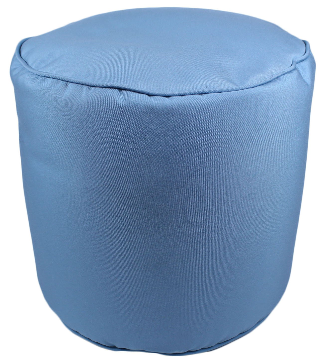 Lava Polyester Ottomans 47290-999 Canvas Mineral Blue Pouf 17X17 Poufs/Outdoor Pouf 17 X 17 X 17 Inches Multicolored