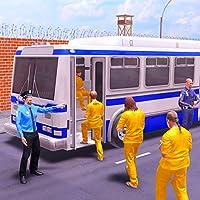 US Police Prisoner Bus Transporter Game Pro 3D