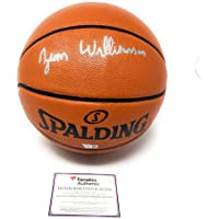 $449 » Zion Williamson New Orleans Pelicans Signed Autograph NBA Game Basketball Fanatics Authentic Certified