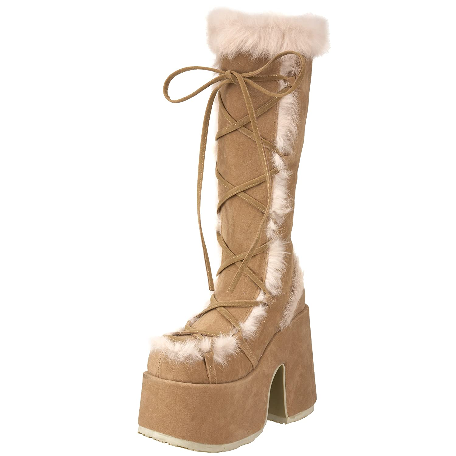 Pleaser Demonia By 10 Women's Camel-311 Boot B0013JOV16 10 By B(M) US|Camel e009c0