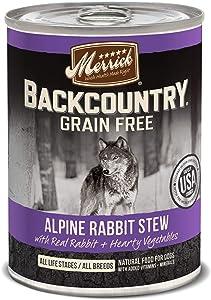 Merrick Backcountry Grain Free Wet Dog Food (Case of 12)