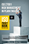 ISO 27001 Risk Management in Plain English: A Step-by-Step Handbook for Information Security Practitioners in Small Businesses (ISO Pocket Book Series)