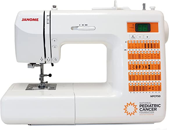 Janome National Pediatric Cancer Foundation NPCF50 máquina de ...