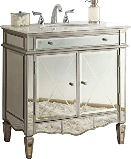 32  Modern Contemporary Style Mirrored Ashmont Bathroom sink vanity Model ...  sc 1 st  Amazon.com & 30