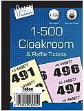 Just Stationery - Etiquetas para ropero (1 a 500)