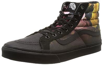 dcbdbc274a Vans Unisex Adults  Sk8-hi Slim Hi-Top Sneakers  Amazon.co.uk  Shoes ...