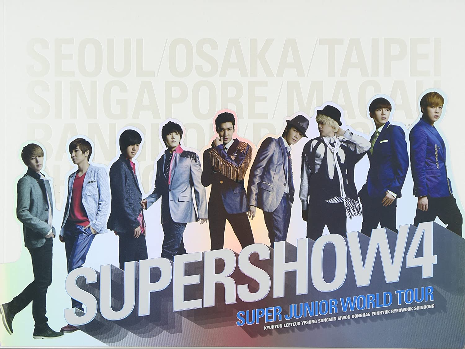Super Junior - Super Junior - Super Show 4 Concert Photo