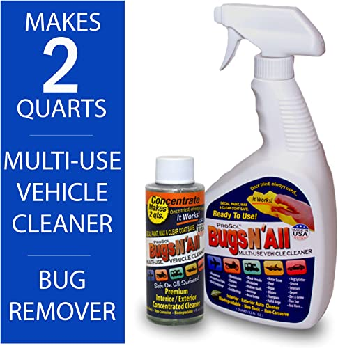 Prosol Bugs N All 4oz. Concentrate Plus One Empty 1 Qt. Spray Bottle