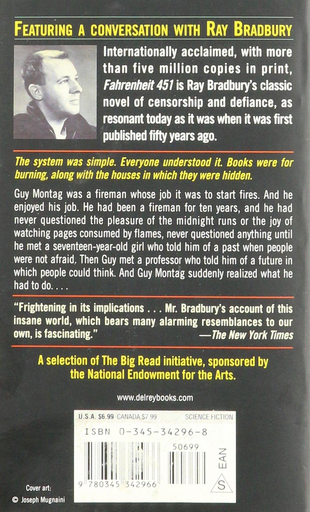 Fahrenheit 451 Ray Bradbury Amazon Books