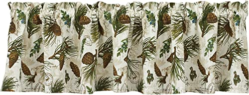 Park Designs Walk in The Woods Valance, 72 x 14