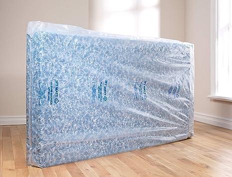 Heavy Duty colchón bolsa único doble super king size, plástico, transparente, 91 cm: Amazon.es: Hogar