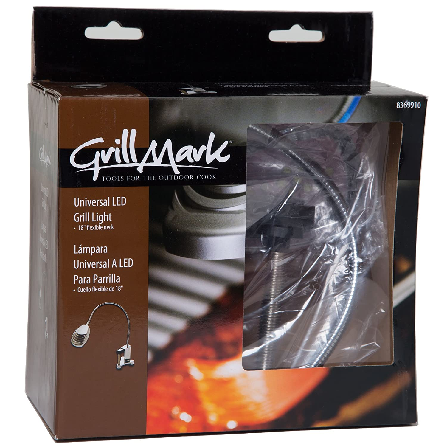 Grill Mark 50939A Univeral LED Grill Light 18-Inch Flexible Neck