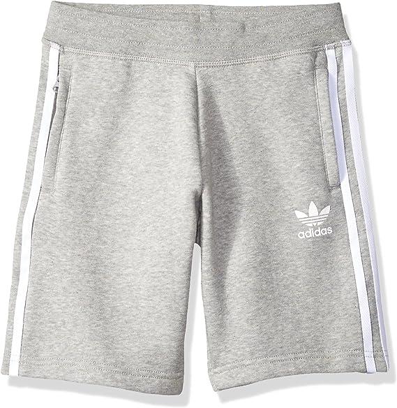 Pornografía Descanso plátano  Amazon.com: adidas Originals Little Trefoil - Pantalones cortos para niño:  Clothing