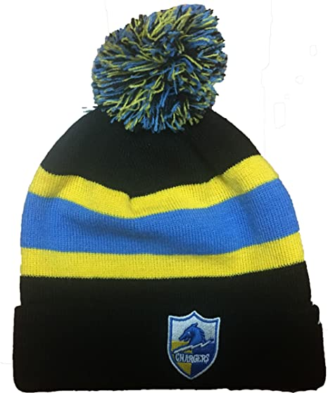 dd49e8f6199d8 ... where can i buy reebok nfl los angeles chargers knit pom beanie hat  7a7c0 db313
